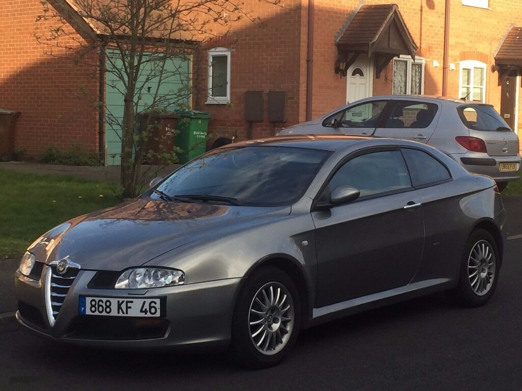 2005 alfa romeo gt 1 9 jtd lhd left hand drive french registered in wollaton nottinghamshire. Black Bedroom Furniture Sets. Home Design Ideas