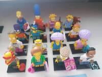 Lego Simpsons series 2 full set minifigures