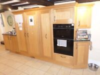 LOCATED IN KIRDFORD OAK fitted kitchen, dishwasher, fridge, double oven and hob