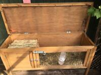 Rabbit and Hutch and Run