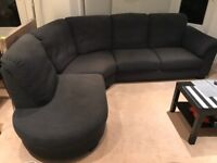 5 seater corner sofa and 2 seater sofa for sale