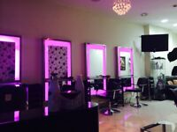 Salon furniture, menicure Table, pedicure chair, styling mirrors