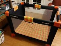 Travel cot excellent condition