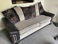 Two (large) two seater sofas *FREE*