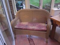 Plastic Cane Look Garden/Conservatory Furniture