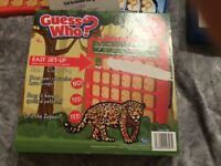 Guess Who Chester Zoo and Buckaroo Games