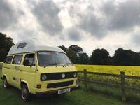 Volkswagen T25 high top campervan