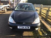 FORD FOCUS 1.6 AUTOMATIC BLACK 2005 54 PLATE