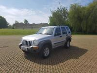 JEEP CHEROKEE 2.4 Sport 5dr (silver) 2003