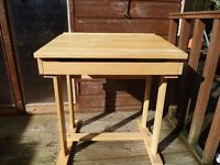 Solid Quality wooden desk and Chair