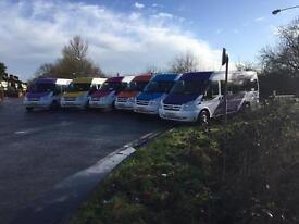 Minibus driver's required £500 + wanted Don't need experience but we do long hours
