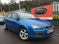 2006 56 Ford Focus 1.6 Zetec Climate 5dr 5 Speed Manual Petrol Low Miles