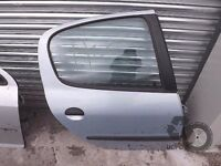 Peugeot 206 1998-2009 O/S Right Driver Side Rear DOOR ref. MM31