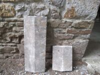 Reclaimed / used Concrete copings