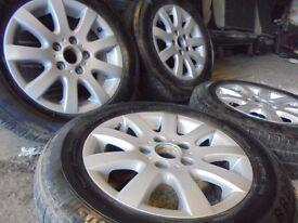 15inch GENUINE vw a3 ronal 5x112 audi alloys wheels golf mk5 mk6 caddy t4 t3 transporter camper