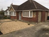 Three bed unfurnished bungalow to rent Bournemouth