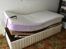 Single adjustable bed. Porthmadog LL49 9HU area