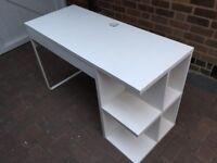 Ikea computer desk white