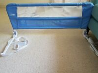 Lindam Bed Guard (Blue) for sale