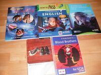 Mixture of Secondary School revision Books