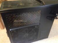 ASUS Rampage Extreme II 2 GPU & Coolmaster Rig Desktop Computer