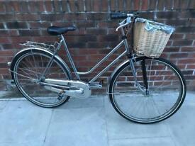 Full chrome vintage ladies bicycle