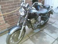Daelim Daystar 125cc running project. Can deliver if needed seenotes