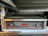 NEW ELECTRIC 3 PHASE FLAT GRILL CATERING COMMERCIAL KITCHEN FAST FOOD SHOP