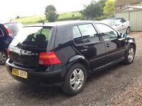 2001 VW Golf Mk IV 1.6 16v SE Petrol **9 Months MOT**