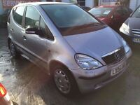 2004 MERCEDES A CLASS AUTOMATIC, 64K MILES, 2 KEYS, STILL DRIVES , BUT GOES TO F MODE. SPARES OR REP