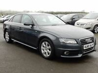 2010 Audi A4 2.0 tdi S-LINE motd may 2017, top spec, tidy example all cards welcome
