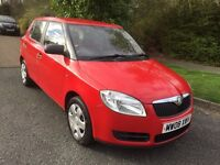 SKODA 1.2 5 DOOR NEW SHAPE IN FIRE RED WITH GREY TRIM, FULL SERVICE HISTORY, 07867 955762 PETER