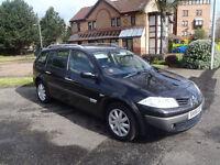 Renault Megane Estate 1.6 MOT- may 2017 84,000 miles like vectra mondeo zafira scenic