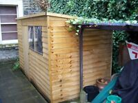 10 x 6ft Shed Plus Pent Overlap £299 Offers