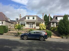 Large 4 bedrooms detached granite property , double garage , enclosed garden, conservatory