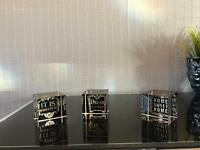 Set of 3 paper weights