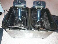 Breville twin basket professional electric fryer