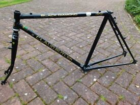 Claude Butler bicycle frame and forks