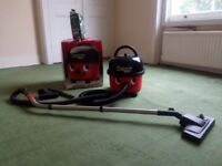 Henry Hoover Numatic Vacuum Cleaner HVR 200 + Box & Cleaner Bags