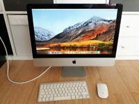 21.5' Apple iMac Desktop 2.5GHz Intel i5 Quad Core 4GB 500GB