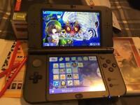 'New' Nintendo 3ds XL + extras