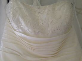 D,arcy Scott wedding dress