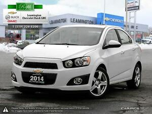 2014 Chevrolet Sonic GREAT LOOKING VEHICLE-AMAZING ON GAS