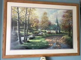 Large Picture 'Thomas Kinkade'