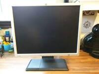 "HP 20"" Flat Screen PC Monitor"