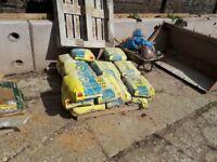 Pallet of Mastercrete Cement