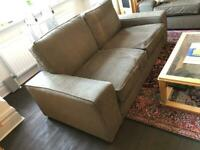2-seat IKEA 'KIVIK' Sofa, Hillared Anthracite Grey, Great Condition, Barely Used
