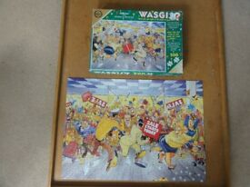 Falcon 500 piece Wasgij Jigsaw 'Shopping Mania'