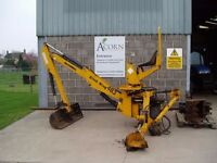 Used McConnell Ditch King 483 tractor mounted digger.