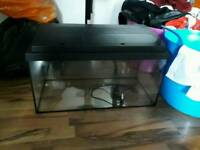 Fish tank 60 liters great condition 07704493968